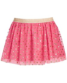 Epic Threads Little Girls Glitter Dot Skirt, Created for Macy's