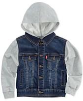 64e7dd1e6 Levi's® Baby Boys Hooded Trucker Jacket