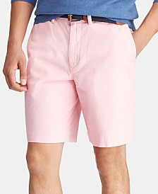 Polo Ralph Lauren Men's Big & Tall Stretch Straight Fit Shorts
