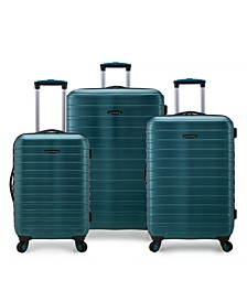 Shoreline Hardside Expandable 3-Piece Spinner Luggage Set, Created by Macy's