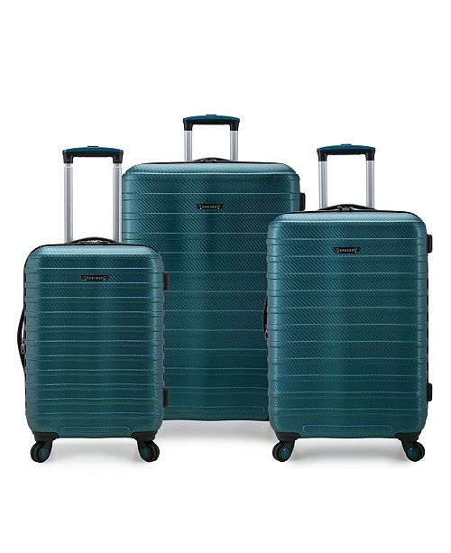 Travel Select Shoreline Hardside Expandable 3-Piece Spinner Luggage Set, Created by Macy's