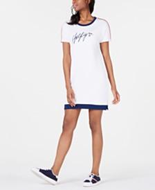 Tommy Hilfiger Sport Logo T-Shirt Dress