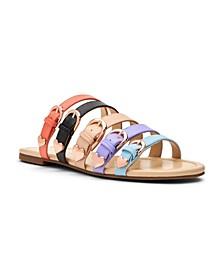 Nikki Strappy Slide Sandals
