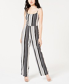 Juniors' Wide-Leg Jumpsuit, Created for Macy's