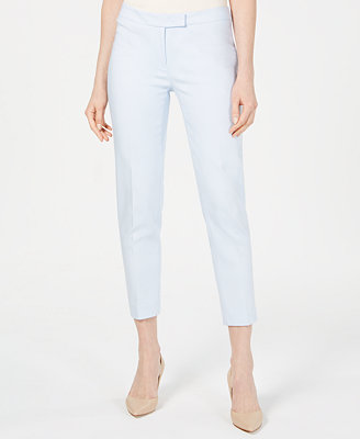 Straight Leg Ankle Pants by Anne Klein