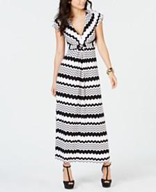 Thalia Sodi Printed Maxi Dress, Created for Macy's