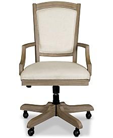 York Home Office Upholstered Desk Chair