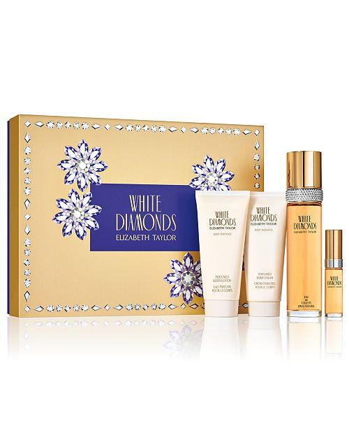 Elizabeth Taylor 4-Pc. White Diamonds Eau de Toilette Gift Set, A $120 Value!