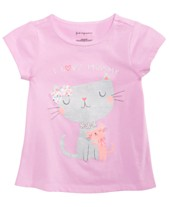 First Impressions Toddler Girls Spring Graphic T-Shirt ef37909c6