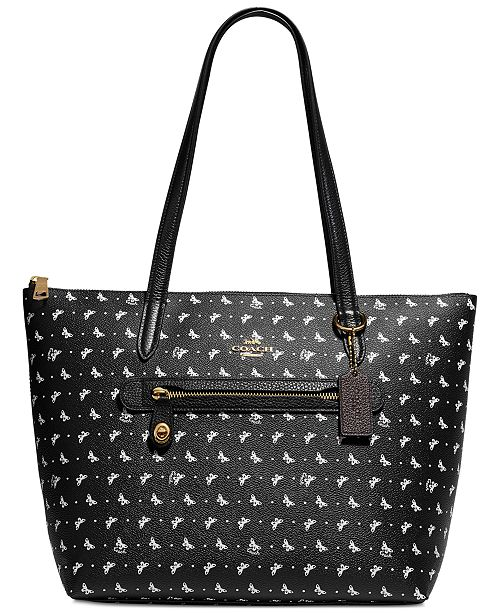 78b5a729e COACH Butterfly Print Taylor Tote; COACH Butterfly Print Taylor Tote ...