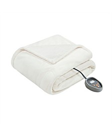 Microlight Berber Twin Electric Blanket
