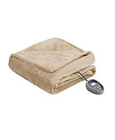 Microlight Berber King Electric Blanket