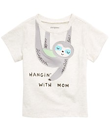 First Impressions Baby Boys Sloth Graphic T-Shirt, Created for Macy's