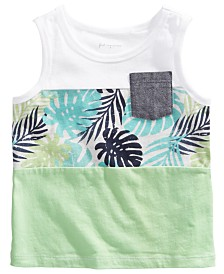 First Impressions Baby Boys Tropical-Print Tank Top, Created for Macy's