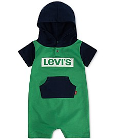 Levi's® Baby Boys Hooded Romper