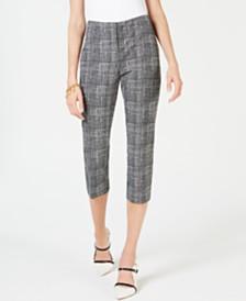 Alfani Printed Capri Pants, Created for Macy's