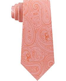 Michael Kors Men's Rich Texture Paisley Silk Tie