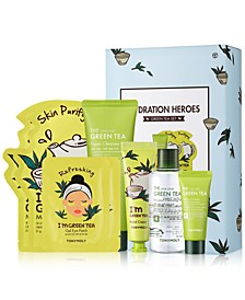 8-Pc. Hydration Heroes Green Tea Set