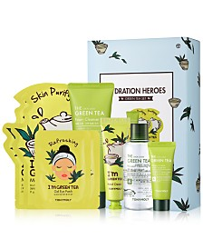 TONYMOLY 8-Pc. Hydration Heroes Green Tea Set