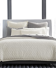 CLOSEOUT! Interlock Cotton Bedding Collection, Created for Macy's