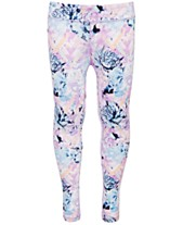 73c05ab912740f Ideology Big Girls Floral-Print Leggings, Created for Macy's