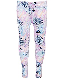 Ideology Big Girls Floral-Print Leggings, Created for Macy's