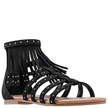 Little & Big Girl's Cybil Fringe Sandal