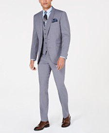 Kenneth Cole Reaction Men's Slim-Fit Techni-Cole Suit