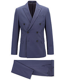 BOSS Men's Slim Fit Double-Breasted Suit