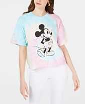 0e97afa7b54 Disney Juniors  Cotton Mickey Mouse Tie-Dyed T-Shirt