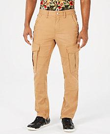 GUESS Men's Carter Twill Cargo Pants