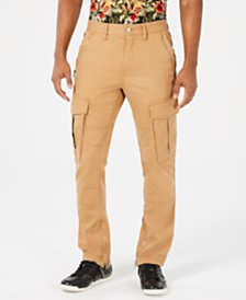 GUESS Men's Carter Twill Cargo Pants