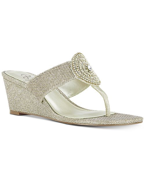 Adrianna Papell Casey Wedge Sandals