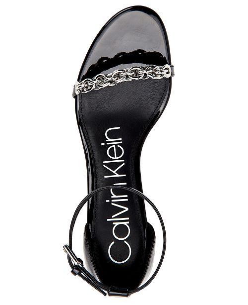 c12991b5f61 Calvin Klein Women s Rajni Dress Sandals   Reviews - Sandals   Flip ...