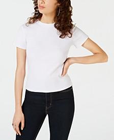 Juniors' Crewneck Baby T-Shirt