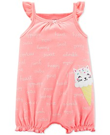 Carter's Baby Girls Ice Cream Printed Romper