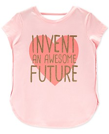 Carter's Little Girls Awesome Future Graphic Cotton Top