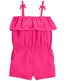 Carter's Toddler Girls Ruffle Romper