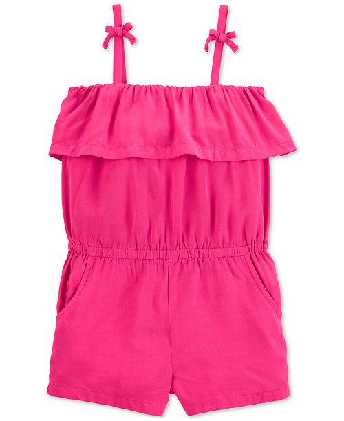 1aedb8e77851 Carter s Toddler Girls Ruffle Romper  Carter s Toddler Girls Ruffle Romper  ...