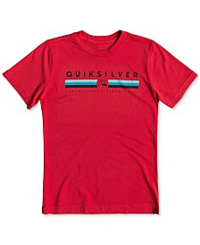 Quiksilver Big Boys Logo Graphic T-Shirt