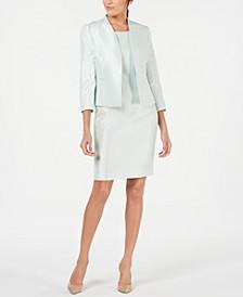 Open-Front Jacket & Dress Suit