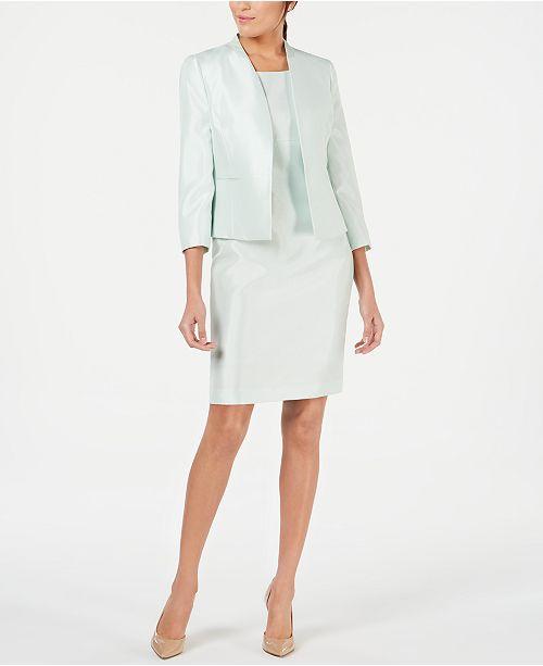 Le Suit Open-Front Jacket & Dress Suit