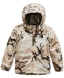 The North Face Toddler Boys Printed Hooded Jacket