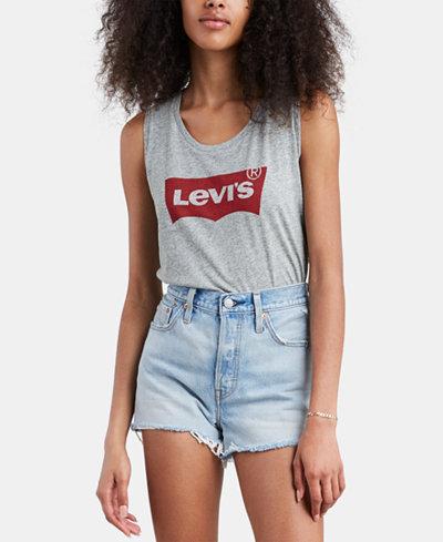 Levi's® Cotton Logo Tank Top