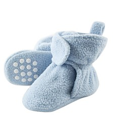 Luvable Friends Fleece Booties, 0 Months-4T