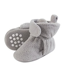 Baby Fleece Booties, 0-24 Months