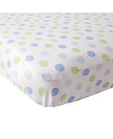 Fitted Knit Crib Sheet, One Size
