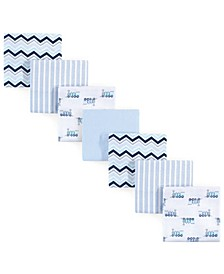 Flannel Receiving Blankets, 7-Pack, One Size