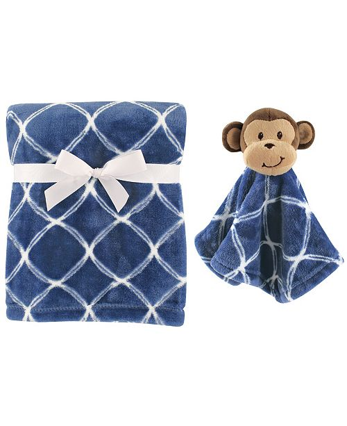 Baby Vision Hudson Baby Plush Blanket And Animal Security