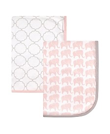 Hudson Baby Swaddle Blanket, 2-Pack, One Size